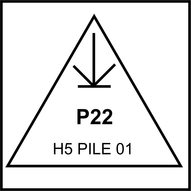 Example Of An Ordinary House Pile Brand
